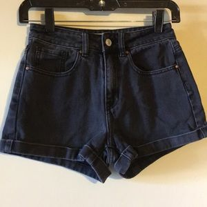 PacSun Black Mom Shorts